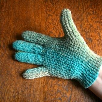 gloves green